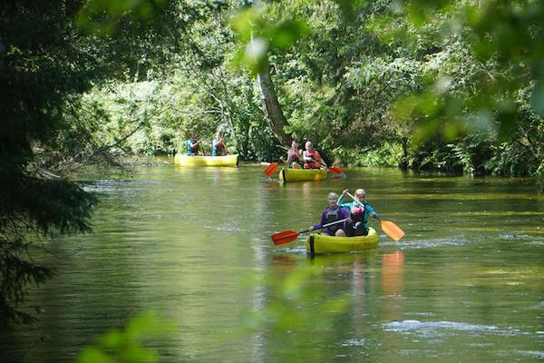 canoeing in estonia